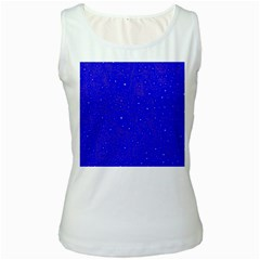 Awesome Allover Stars 01f Women s White Tank Top by MoreColorsinLife