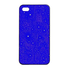 Awesome Allover Stars 01f Apple Iphone 4/4s Seamless Case (black) by MoreColorsinLife