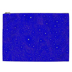 Awesome Allover Stars 01f Cosmetic Bag (xxl)  by MoreColorsinLife