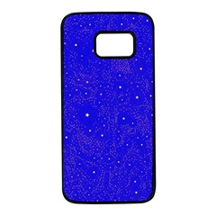 Awesome Allover Stars 01f Samsung Galaxy S7 Black Seamless Case by MoreColorsinLife
