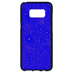Awesome Allover Stars 01f Samsung Galaxy S8 Black Seamless Case by MoreColorsinLife