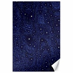 Awesome Allover Stars 01b Canvas 20  X 30   by MoreColorsinLife