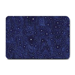 Awesome Allover Stars 01b Small Doormat  by MoreColorsinLife
