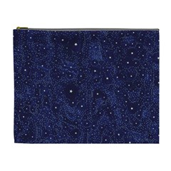 Awesome Allover Stars 01b Cosmetic Bag (xl) by MoreColorsinLife