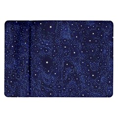 Awesome Allover Stars 01b Samsung Galaxy Tab 10 1  P7500 Flip Case by MoreColorsinLife