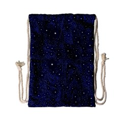 Awesome Allover Stars 01b Drawstring Bag (small) by MoreColorsinLife
