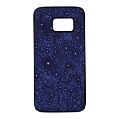 Awesome Allover Stars 01b Samsung Galaxy S7 Black Seamless Case by MoreColorsinLife