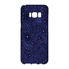 Awesome Allover Stars 01b Samsung Galaxy S8 Hardshell Case  by MoreColorsinLife