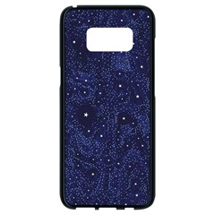 Awesome Allover Stars 01b Samsung Galaxy S8 Black Seamless Case