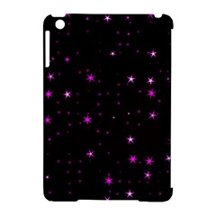 Awesome Allover Stars 02d Apple Ipad Mini Hardshell Case (compatible With Smart Cover) by MoreColorsinLife