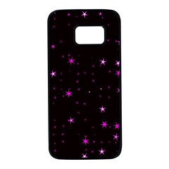 Awesome Allover Stars 02d Samsung Galaxy S7 Black Seamless Case by MoreColorsinLife