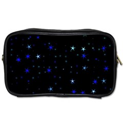Awesome Allover Stars 02 Toiletries Bags 2-side by MoreColorsinLife