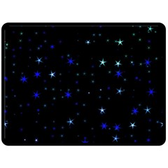 Awesome Allover Stars 02 Fleece Blanket (large)  by MoreColorsinLife