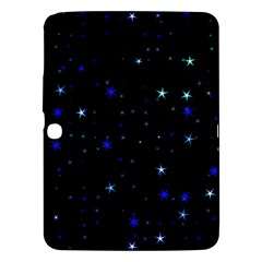 Awesome Allover Stars 02 Samsung Galaxy Tab 3 (10 1 ) P5200 Hardshell Case  by MoreColorsinLife