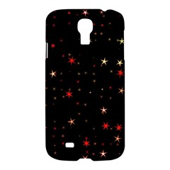 Awesome Allover Stars 02b Samsung Galaxy S4 I9500/i9505 Hardshell Case by MoreColorsinLife