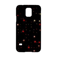 Awesome Allover Stars 02b Samsung Galaxy S5 Hardshell Case  by MoreColorsinLife
