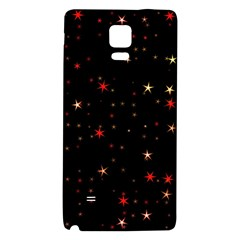 Awesome Allover Stars 02b Galaxy Note 4 Back Case by MoreColorsinLife