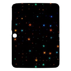 Awesome Allover Stars 02e Samsung Galaxy Tab 3 (10 1 ) P5200 Hardshell Case  by MoreColorsinLife