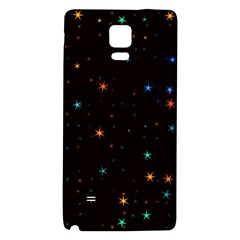Awesome Allover Stars 02e Galaxy Note 4 Back Case by MoreColorsinLife