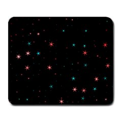 Awesome Allover Stars 02f Large Mousepads by MoreColorsinLife