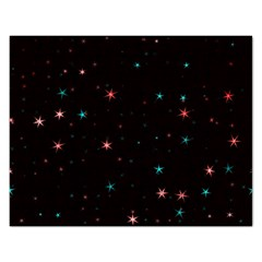 Awesome Allover Stars 02f Rectangular Jigsaw Puzzl by MoreColorsinLife