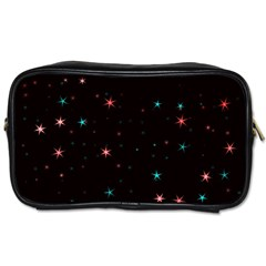 Awesome Allover Stars 02f Toiletries Bags 2 Side by MoreColorsinLife