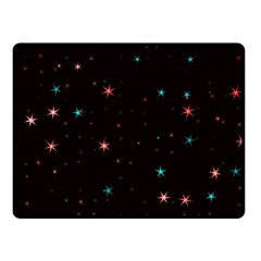 Awesome Allover Stars 02f Fleece Blanket (small) by MoreColorsinLife
