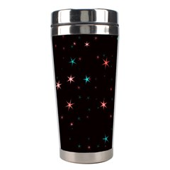 Awesome Allover Stars 02f Stainless Steel Travel Tumblers by MoreColorsinLife