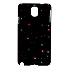 Awesome Allover Stars 02f Samsung Galaxy Note 3 N9005 Hardshell Case by MoreColorsinLife