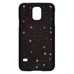 Awesome Allover Stars 02f Samsung Galaxy S5 Case (black) by MoreColorsinLife