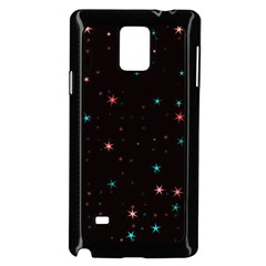 Awesome Allover Stars 02f Samsung Galaxy Note 4 Case (black) by MoreColorsinLife
