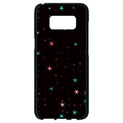 Awesome Allover Stars 02f Samsung Galaxy S8 Black Seamless Case