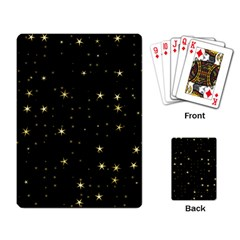 Awesome Allover Stars 02a Playing Card