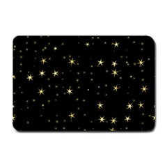 Awesome Allover Stars 02a Small Doormat  by MoreColorsinLife