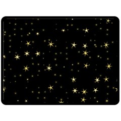 Awesome Allover Stars 02a Fleece Blanket (large)  by MoreColorsinLife