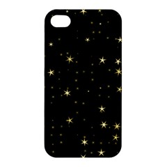 Awesome Allover Stars 02a Apple Iphone 4/4s Premium Hardshell Case by MoreColorsinLife