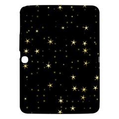 Awesome Allover Stars 02a Samsung Galaxy Tab 3 (10 1 ) P5200 Hardshell Case  by MoreColorsinLife