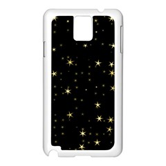 Awesome Allover Stars 02a Samsung Galaxy Note 3 N9005 Case (white)