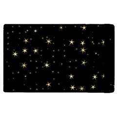 Awesome Allover Stars 02a Apple Ipad Pro 9 7   Flip Case