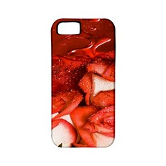 Nice Rose With Water Apple Iphone 5 Classic Hardshell Case (pc+silicone) by BangZart
