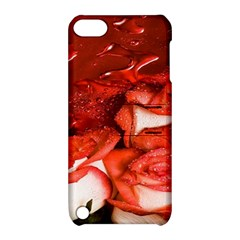 Nice Rose With Water Apple Ipod Touch 5 Hardshell Case With Stand by BangZart