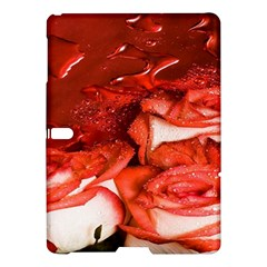 Nice Rose With Water Samsung Galaxy Tab S (10 5 ) Hardshell Case  by BangZart