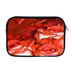 Nice Rose With Water Apple Macbook Pro 17  Zipper Case by BangZart