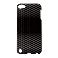 Dark Black Mesh Patterns Apple Ipod Touch 5 Hardshell Case by BangZart