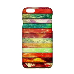 Stripes Color Oil Apple Iphone 6/6s Hardshell Case by BangZart