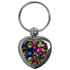 Stained Glass Key Chains (heart)  by BangZart