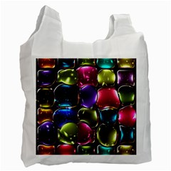 Stained Glass Recycle Bag (one Side) by BangZart