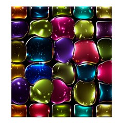 Stained Glass Shower Curtain 66  X 72  (large)  by BangZart