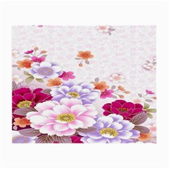 Sweet Flowers Small Glasses Cloth