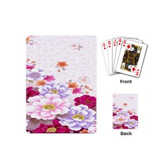 Sweet Flowers Playing Cards (mini)  by BangZart